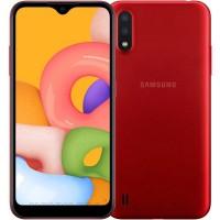 Смартфон Samsung Galaxy A01 16 ГБ Red